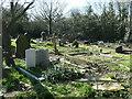 SE3620 : A fourth Commonwealth war grave, Kirkthorpe churchyard by Christine Johnstone