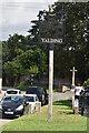 TQ6950 : Yalding Village Sign by N Chadwick