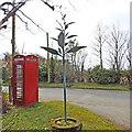 TL9546 : Milden village sign by Adrian S Pye