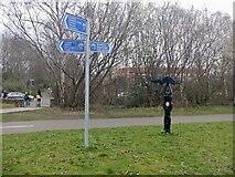 NT2274 : Craigleith Junction by Richard Webb