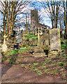 SD8003 : St Mary's Churchyard, Prestwich Clough by David Dixon