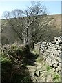 """SD9931 : """"The cobbles of Lumb Lane"""" [3] by Christine Johnstone"""