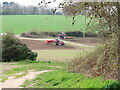 TG2929 : Arable cultivations by David Pashley