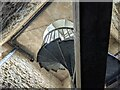 SO4685 : Spiral staircase inside Flounders' Folly by Fabian Musto
