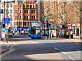 SJ8498 : Double Decker Bus on Piccadilly by David Dixon