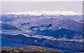 NN1485 : East ridge of Beinn Bhàn descending towards Loch Lochy by Trevor Littlewood