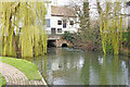 TM3699 : Loddon water mill  on the River Chet by Adrian S Pye