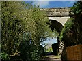 SE3651 : Old railway viaduct near Spofforth Castle by Stephen Craven