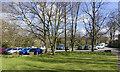 NZ0737 : Car park at Demesne Mill by Trevor Littlewood