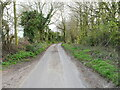 TG2730 : South on unclassified road by David Pashley