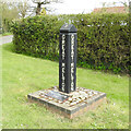 TG1305 : Great Melton village sign by Adrian S Pye