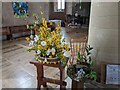 SO7251 : Easter display inside St. John the Baptist church (Suckley) by Fabian Musto