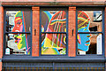 SJ8497 : 50 Windows of Creativity #45 (People) by David Dixon