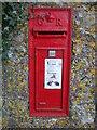 ST3736 : Old letterbox in Sutton Mallet by Neil Owen