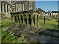 SE1942 : St Oswald's Guiseley - Padgett tomb by Stephen Craven