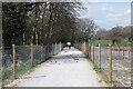 SP2675 : Temporary Kenilworth Greenway by Big Poors Wood by Stephen McKay