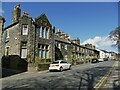 SE1942 : St Oswald's Terrace, The Green, Guiseley by Stephen Craven