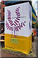 SJ8498 : Bukkybaldwin Art in Stevenson Square by David Dixon