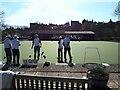 ST9387 : Malmesbury Bowls Club by Vieve Forward