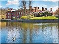 SJ7387 : Dunham Massey Hall and moat by David Dixon
