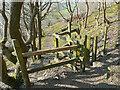 SE1026 : Gate on Halifax Footpath 378/3, Northowram by Humphrey Bolton