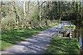 SO0627 : Railings at Weir No 1, Mon & Brec Canal by M J Roscoe