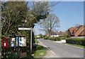 SU5659 : Parish Notices, Wolverton Common by Des Blenkinsopp