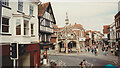 SU1429 : Poultry Cross from Silver Street, 1992 by Keith Edkins