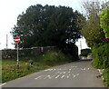 ST0080 : No Entry sign, Llanharry Road, Llanharry by Jaggery
