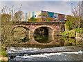 SD8008 : River Irwell, Hardy's Gate Bridge by David Dixon