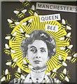 SJ8398 : Manchester's Queen Bee by Gerald England