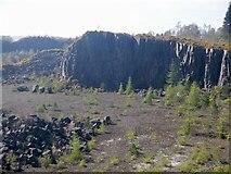 NS7791 : Murrayshall Quarry by Richard Webb