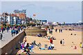 TA3108 : Cleethorpes Beach by Oliver Mills