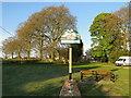 TF9804 : Cranworth village sign by Adrian S Pye