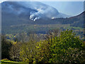 J3629 : Wild Fire in the Glen Valley viewed from Islands Park by Eric Jones