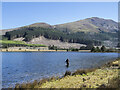 NY0919 : Fishing in Cogra Moss by Trevor Littlewood