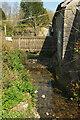 SX7862 : Footbridge, Lownard by Derek Harper