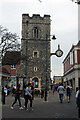 TR1557 : St George The Martyr Tower, St George's Street, Canterbury by Jo Turner