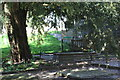 SO1223 : Tomb of Henry Vaughan, Llansantffraed by M J Roscoe