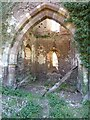 SO6653 : Ruins of Avenbury church by Philip Halling