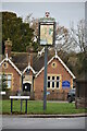 TQ5240 : Fordcombe Village sign by N Chadwick
