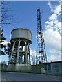 SE2539 : Tinshill water tower by Stephen Craven