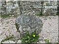 SW8746 : Old Wayside Cross at Tresillian by L Nott