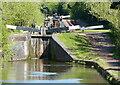 SO9768 : Narrowboat in Tardebigge Lock No 46 by Mat Fascione