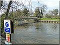 TM3489 : Sluice on the River Waveney at Bungay by Adrian S Pye