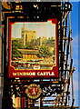 ST3188 : Two name signs on the Windsor Castle pub, Newport by Jaggery