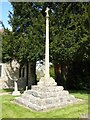 SO9029 : Churchyard cross, Tredington by Philip Halling
