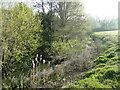 TM1378 : River Waveney downstream from Stuston Bridge by Adrian S Pye