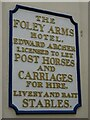 SO7745 : Sign on the Foley Arms by Philip Halling