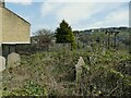 SE0523 : The former St George's church, Sowerby - burial ground by Stephen Craven